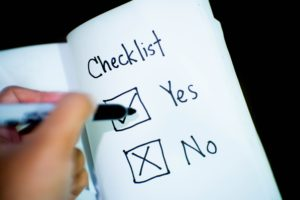 independent title insurance checklist