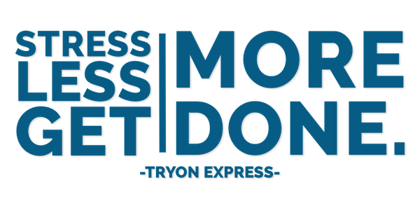stress less with tryon express